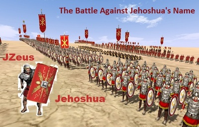 THE BATTLE AGAINST JEHOSHUAS NAME