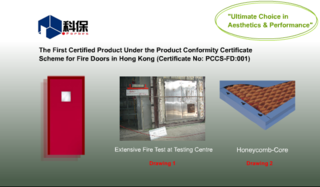 Fire Rated Steel Door System
