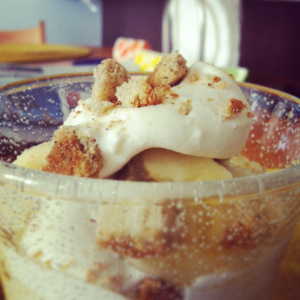 Southern Splash-of-Bourbon Banana Pudding